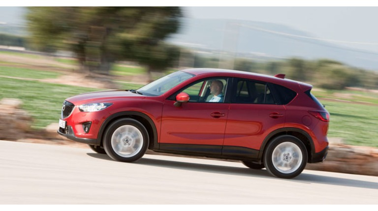 De Mazda CX-5 is gekozen tot 'Beste uit de Test'